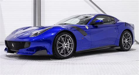 We recently received pictures of a ferrari laferrari which we can of course not withhold from you. One-Off Electric Blue Ferrari F12tdf Is A Million Dollar ...