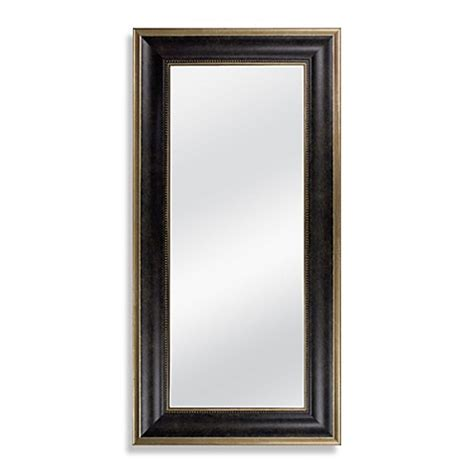 buy     accent mirror  marbled bronze finish