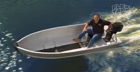 Flex Tape Boat In Half by Flex Seal Tape Review Does It Really Work Askdads