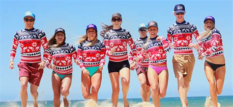 ugly xmas rashie launches  aussie tradition cancer