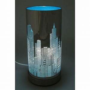 Lampe De Chevet Noir : la lampe de chevet new york l gance et praticit ~ Teatrodelosmanantiales.com Idées de Décoration