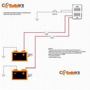 12 Volt Dual Battery Wiring Diagram