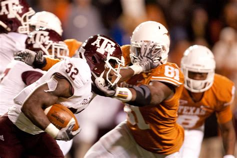 texas  football top  running backs  aggie history