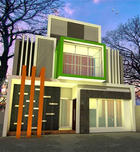 disain rumah minimalis tampak depan samping belakang