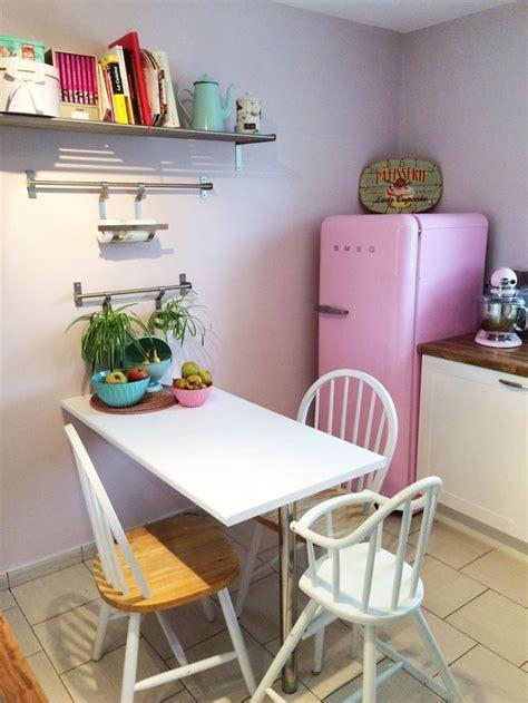 cuisine avec frigo smeg cuisine pastel avec frigo smeg deco