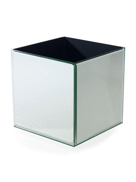 mirror cube riser   square