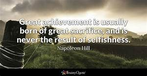 Sacrifice Quote... Great Achiever Quotes