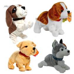 Sound Control Electronic Dogs Interactive Electronic Pets Robot Dog Bark Stand Walk Electronic Toys Dog For Children Christmas
