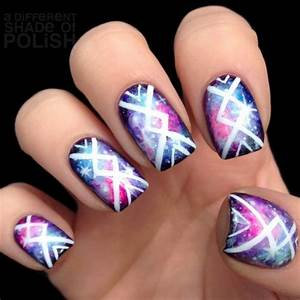 Cool nail designs : Cool tribal nail art designs hative