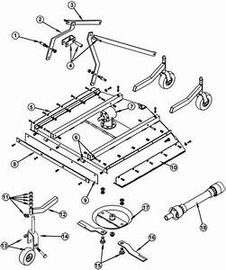 King Kutter Tiller Parts Diagram