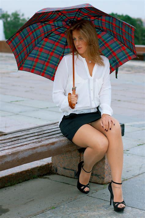 anya bo summer dull day  moscow  short skirt