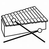Xylophone Coloring Clipart Pages Drawing Easy Clip Cliparts Paintingvalley Colouring Library sketch template