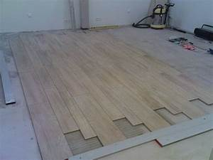 poser du faux carrelage With comment poser du carrelage imitation parquet