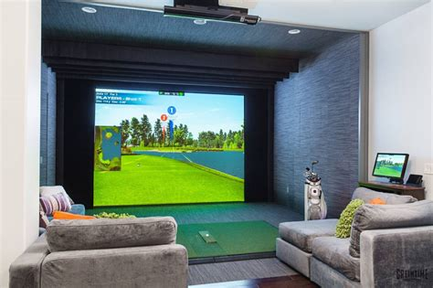 home design simulator home entertainment with indoor golfing insidesign innovation house