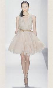 little white wedding reception dress dennis baso spring 2012 With little white wedding dress