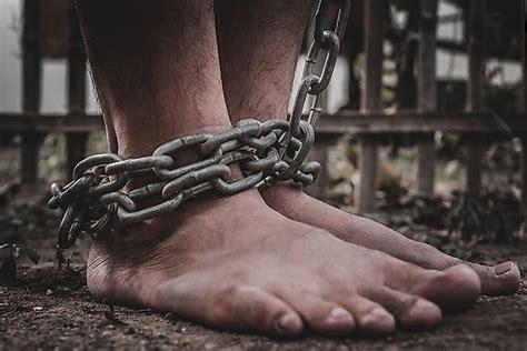 slavery today countries   highest prevalence