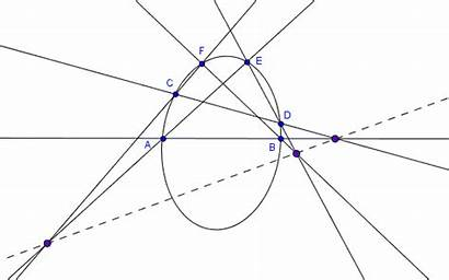 Lines Parallel Three Pairs Infinity Theorem Cut