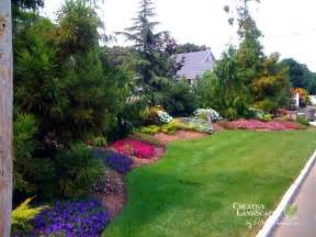 privacy planting for the front yard garden borders and