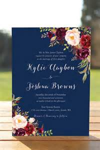 wedding stationery the 25 best floral wedding invitations ideas on
