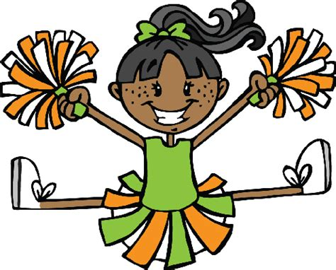 cheerleading clipart clipart clipground