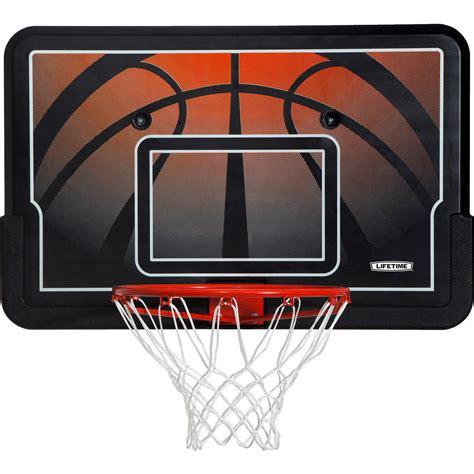 lifetime basketball backboard  rim combo