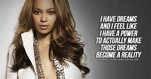 Powerful Beyonce Quotes - Be Inspired & Empowered - Be ...