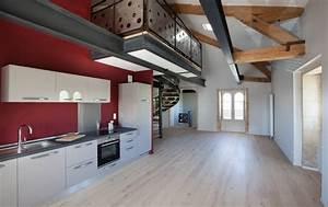 Poutre En Chene : photo studio grand ouest plancher en chene poutrelle ~ Premium-room.com Idées de Décoration