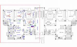 Electrical Plan Of Apartment