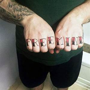 Top 100 Best Knuckle Tattoos For Men - A Fist Full Of Ideas