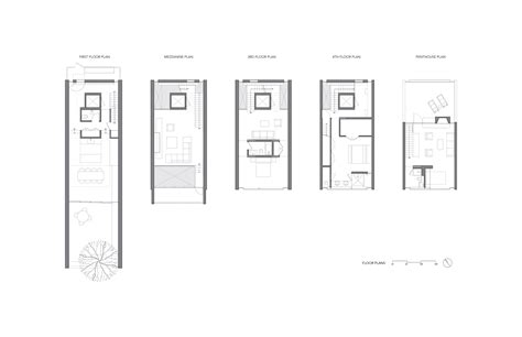 3 townhouse floor plans gallery of townhouse gluck 11