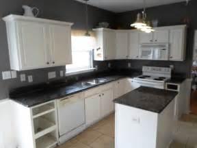 small black and white kitchen ideas white kitchen cabinets with black granite countertops