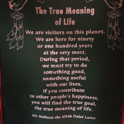 what is the meaning of a the meaning of life according to the dalai lama elephant journal