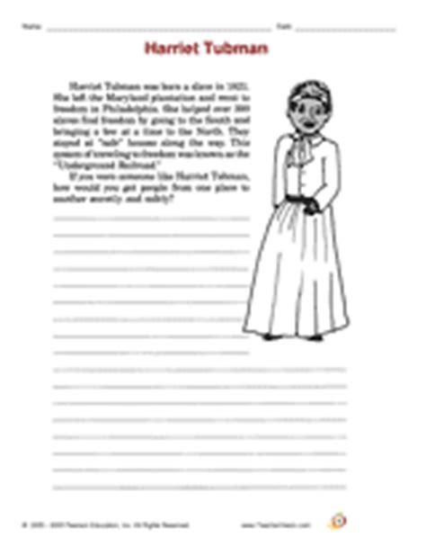 New 398 First Grade Worksheets On Harriet Tubman  Firstgrade Worksheet