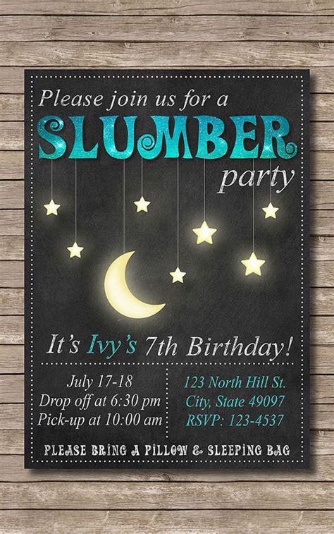 creative slumber party invitation templates psd ai