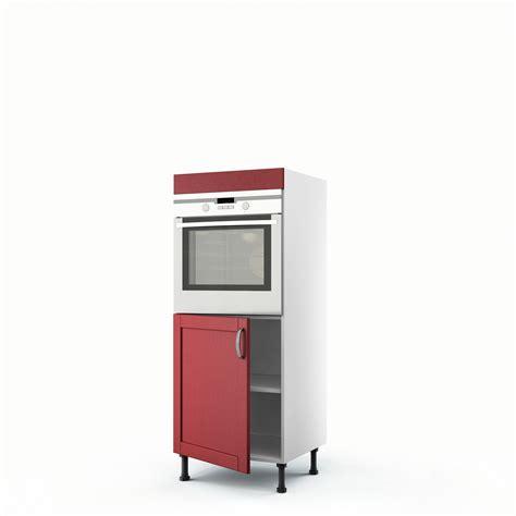 meuble demi colonne cuisine meuble de cuisine demi colonne four 1 porte rubis