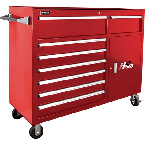 best deals on tool cabinets homak h2pro 56in 8 drawer roller tool cabinet with 2