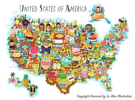 usa cuisine usa food map each state has it 39 s own speciality