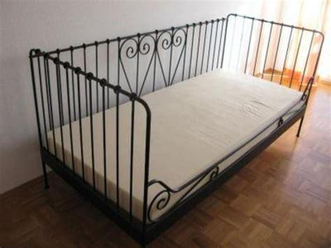 Ikea Metall Bett Schwarz In Worms  Ikeamöbel Kaufen Und