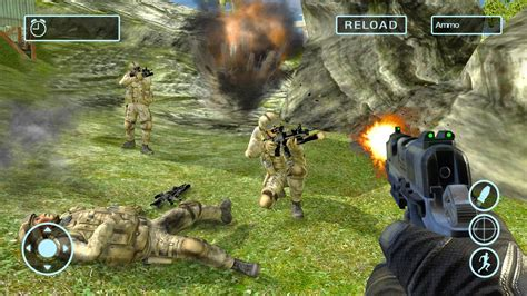 army shooting war game   android