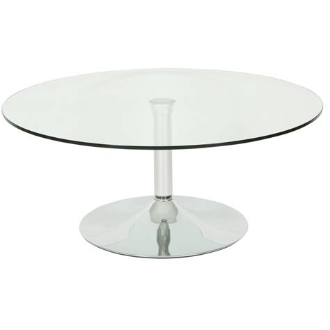 round glass table l levv roma round glass coffee table next day delivery