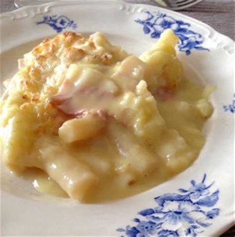 cuisiner salsifis en boite gratin de salsifis et jambon au curry recette iterroir