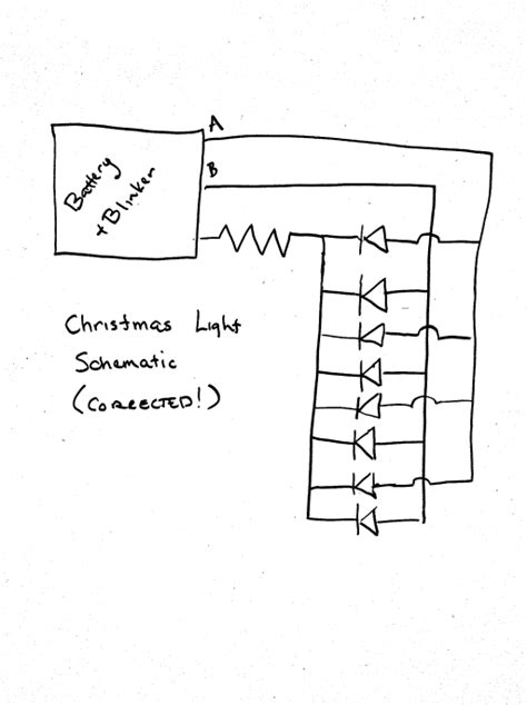 wiring diagram for string of christmas lights brainwagon 187 dissecting a set of 99 battery powered lights