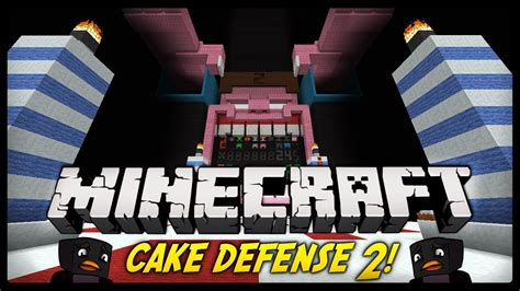 minecraft  ty zrobil cake defence  minecraft mini