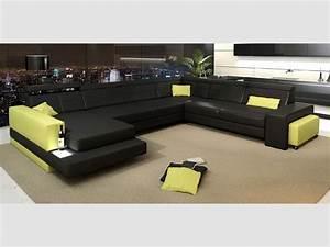 Canapé D Angle Xl : canape d 39 angle xl discount ~ Teatrodelosmanantiales.com Idées de Décoration