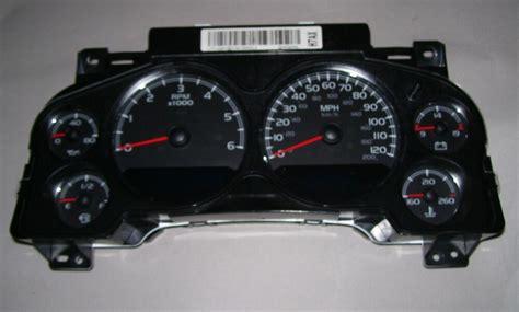 gmc yukon xl speedometer instrument