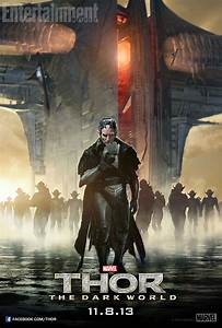 New Malekith and Heimdall Posters for Thor: The Dark World ...