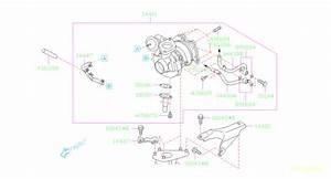 Subaru Legacy Turbocharger Coolant Line