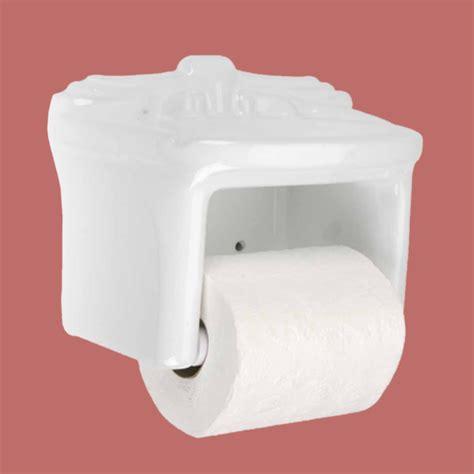 toilet tissue paper holder white ceramic porcelain