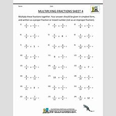 Multiply And Divide Fractions Worksheet Fractions Alistairtheoptimist Free Worksheet For Kids