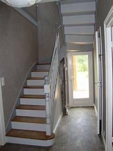 Peindre escalier en bois recherche google idee deco for Peindre escalier en bois